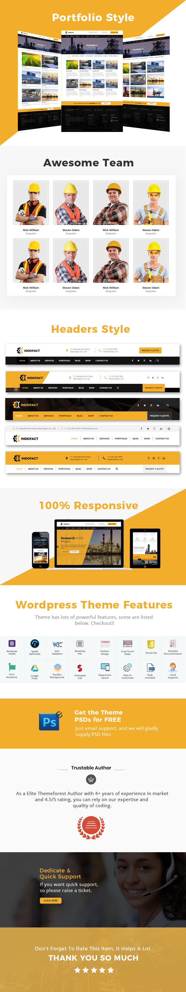 Indofact - Industry and factory WordPress Theme - 2